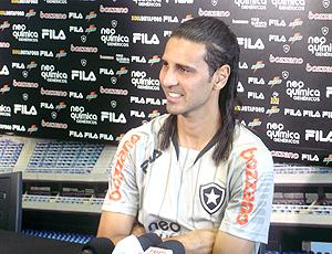 Leandro Guerreiro coletiva Botafogo