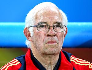 Luis Aragonés ex-treinador da espanha