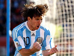 Messi comemoração Argentina