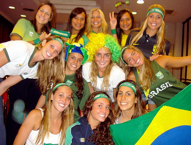 Nado sincronizado brasil