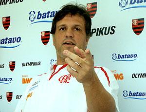 Rogério Lourenço coletiva Flamengo