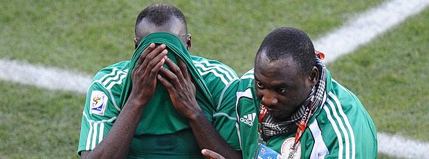 Sani Kaita expulso jogo Nigéria