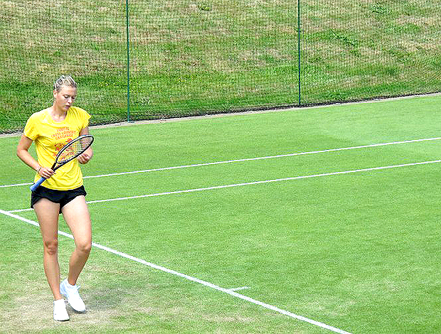 Maria Sharapova Wimbledon treino tênis