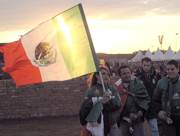 torcida México contra França