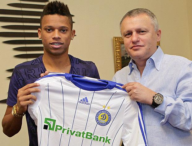 André apresentação Dynamo de Kiev