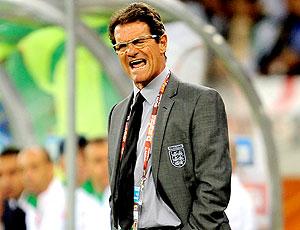 Fabio Capello Inglaterra X Argélia