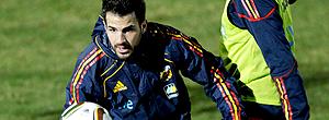 Fabregas treino Espanha