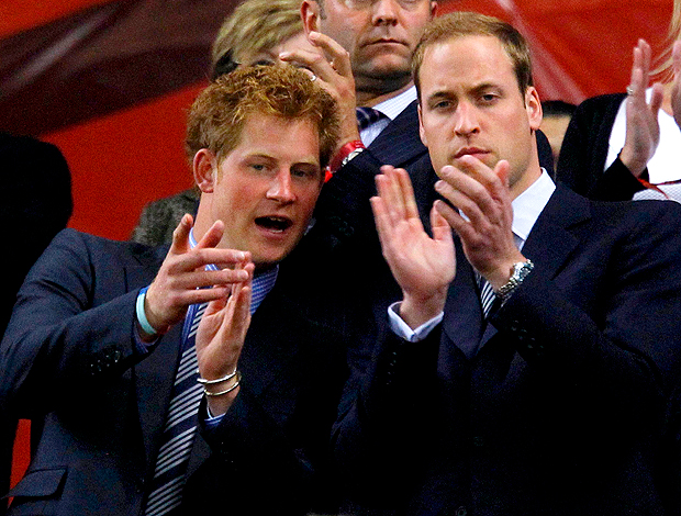 principes william harry inglaterra argélia
