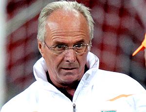 Sven Goran Eriksson técnico da Costa do marfim