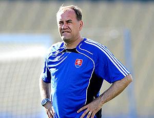 Vladimir Weiss técnico da Eslováquia