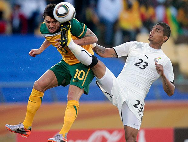 Harry Kewell jogo Austrália contra Gana