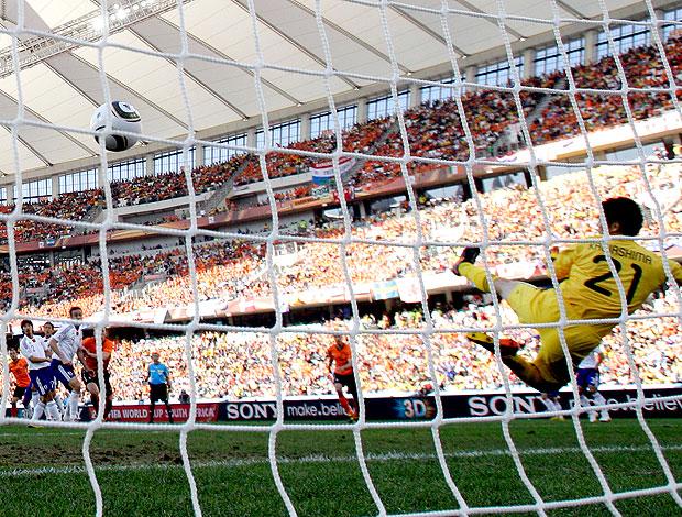 Sneijder gol Holanda contra Japão