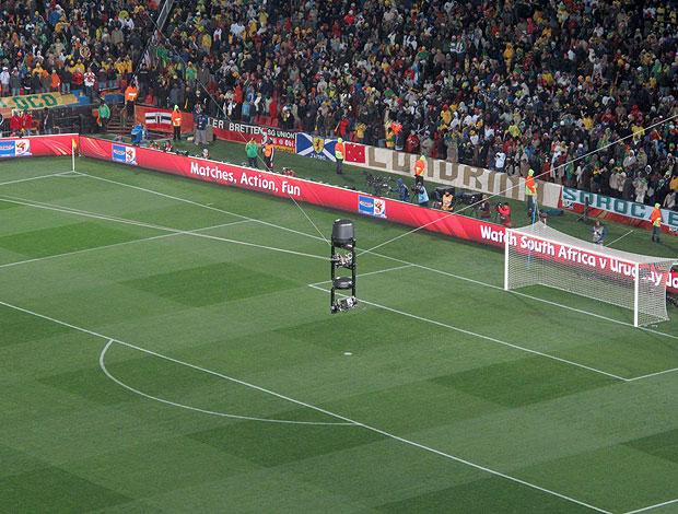 spidercam câmera jogos Copa do Mundo