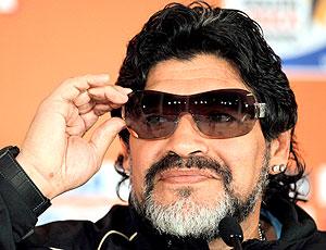 Maradona coletiva óculos escuros