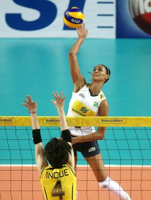 Raquel vôlei Brasil