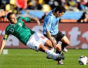 Blanco jogo México contra Uruguai