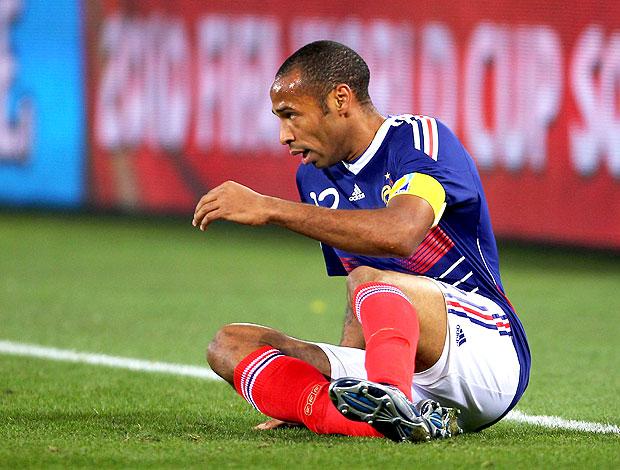 Henry caído derrota França
