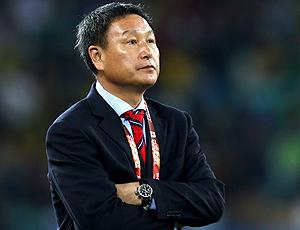 Huh Jung-Moo técnico Coreia do Sul