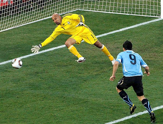 Luis Suarez gol uruguai contra México