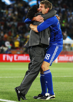 maradona palermo  argentina x grécia