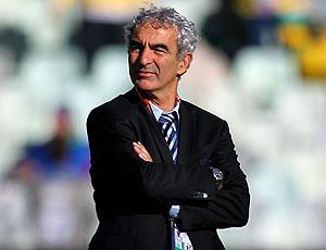Raymond Domenech técnico França jogo