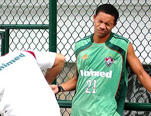 Wellington Silva careta exame Fluminense