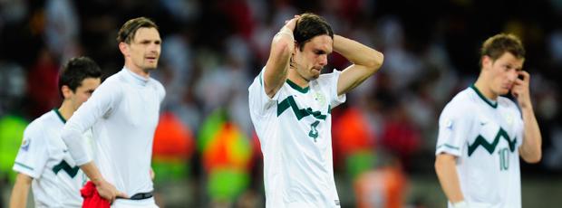 eslovenos decepcionados  inglaterra eslovênia