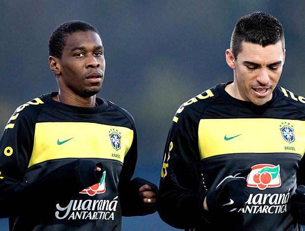 Juan Lucio treino Brasil