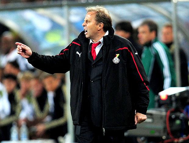 Milovan Rajevac treinador Gana