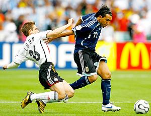 Tevez Lahm Alemanha Argentina 2006
