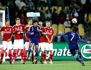 Endo gol Japão X Dinamarca