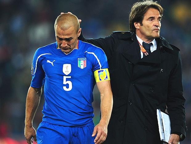 Fabio Cannavaro derrota Itália