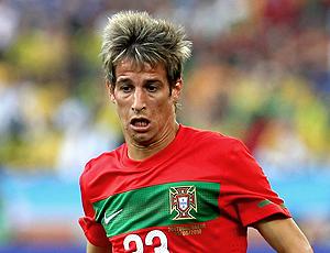 Fabio Coentrão jogador de Portugal