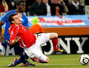 lance jogo Suiça - Barnetta x Honduras - Thomas