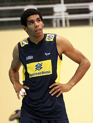 Oposto Wallace seleção brasileira de vôlei