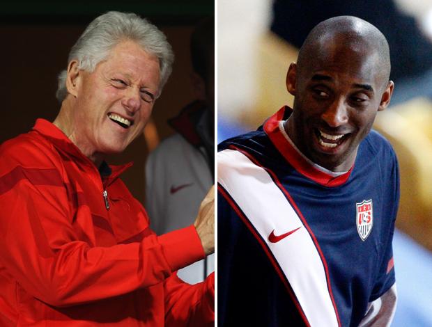 Bill Clinton Kobe Bryant EUA Gana