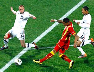 Lance gol Boateng Gana contra Estados Unidos