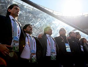 Maradona comissão técnica Argentina