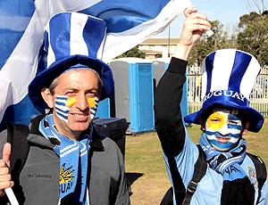 Ambiente torcida Uruguai