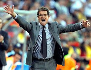 Fabio Capello reclamação  gol não marcado Inglaterra