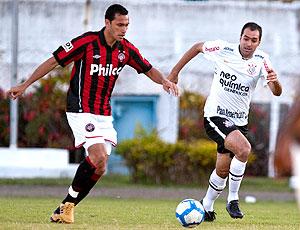 Eli Sabiá Danilo Atlético-PR X Corinthians