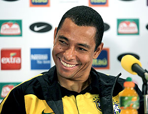 Gilberto Silva coletiva seleção brasileira