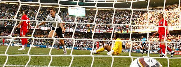 Klose gol Alemanha contra Inglaterra
