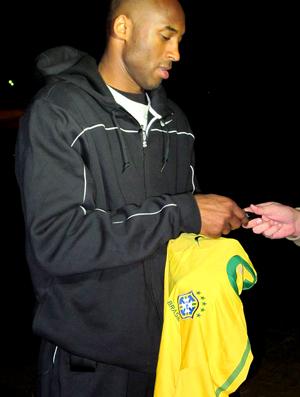 Kobe Bryant Basquete EUA entrevista África do Sul
