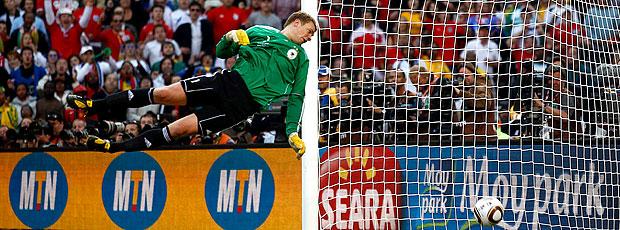 Manuel Neuer gol não marcado Inglaterra