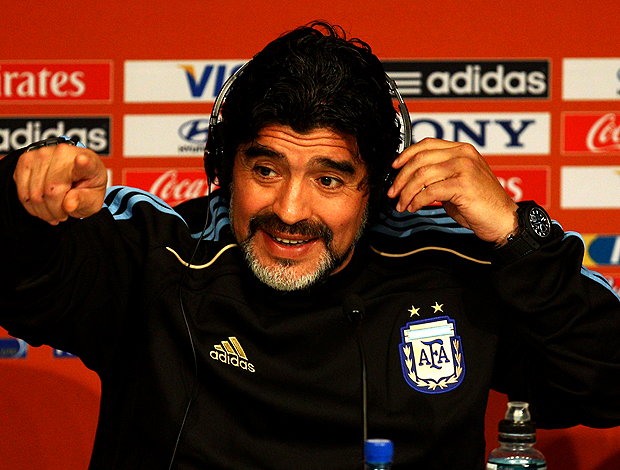 Maradona coletiva Argentina