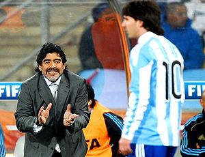 messi maradona argentina x méxico