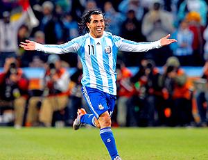 tevez, segundo gol argentina x méxico