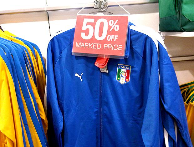 Agasalho da Itália em promoção na África do Sul