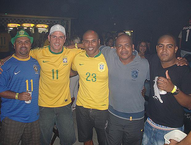 Amigos de Robinho
